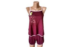 Пижамы женские шорты майка хлопок Украина р.40-42, 42-44. От 4шт по 59грн