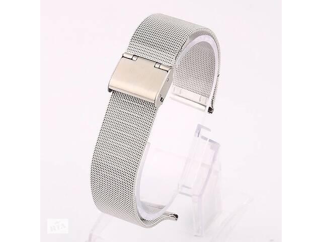 бу Ремешок для часов Mesh steel design bracelet Universal, 20 мм. Silver в Запорожье