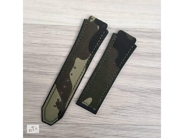 купить бу Ремешок Hublot 26/22 Military- Dark Green в Одессе