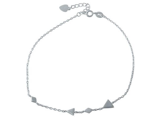 купить бу Серебряный браслет на ногу rekordmarket без камней (1993958) 2326 размер в Харькове