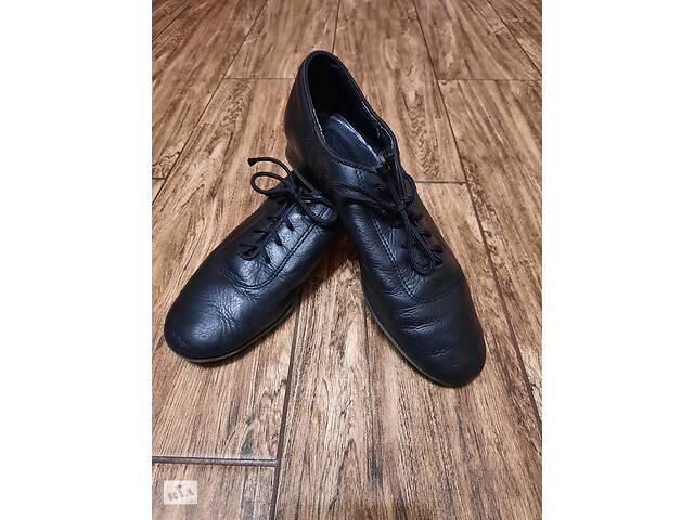 Шкіряні танцювальні туфлі для хлопчика