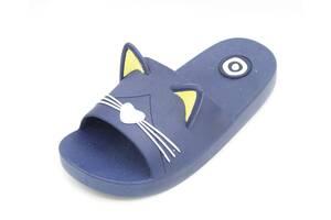 Шлепанцы Plazzo 27-28 19 см Синий (CAT blue 27-28)