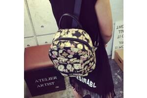 Сказочные рюкзаки с цветами и часами
