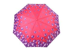 Складной зонт H.DUE.O Зонт женский полуавтомат H.DUE.O (АШ.ДУЭ.О) HDUE-255-2