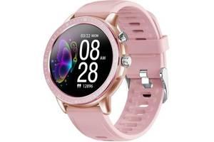 Смарт-часы Gelius Pro GP-SW005 (NEW GENERATION) (IP67) Pink/Gold (ProGP-SW005(NEWGENERATION)Pink/Gold)