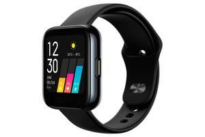 Смарт-часы Realme Watch Black; 1.4 (360х360) TFT сенсорный / Bluetooth / 36.5 x 11.8 x 256 мм, 31 г / IP68 / 160 мАч...