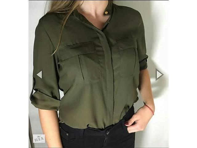 ed1fa5f8741 Рубашка оливкового цвета H M - Женская одежда в Житомире на RIA.com