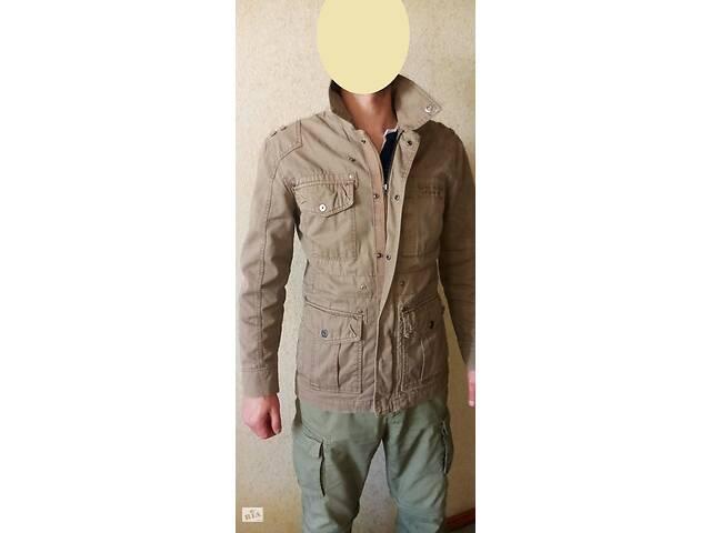 купить бу Стильна куртка-піджак military хакі бренд ESPRIT DE CORP в Чугуєві