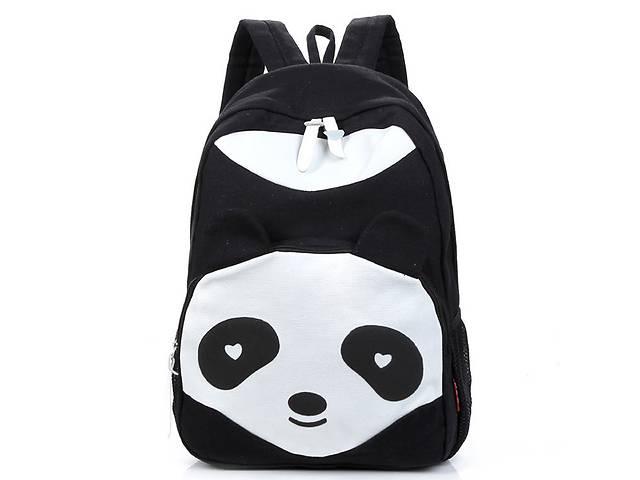 бу Стильный большой тканевый рюкзак Панда в Хмельницком