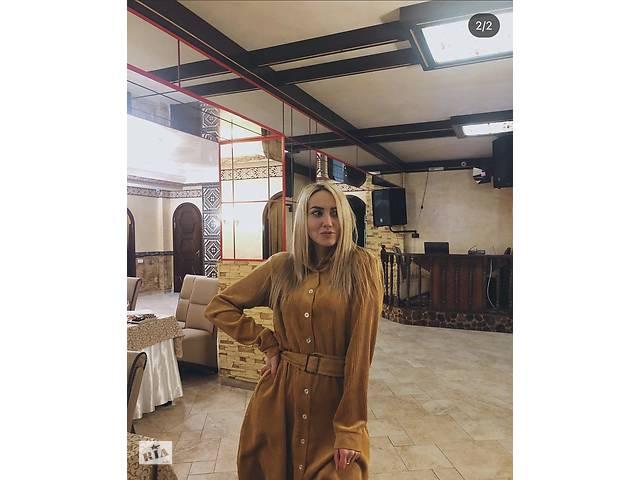 продам Платье размер М (оттенка горчичного) бу в Виннице