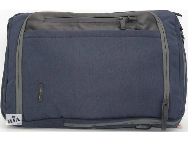 купить бу Сумка-рюкзак Aoking 77600 для ноутбука, 15 л, темно-синий в Киеве