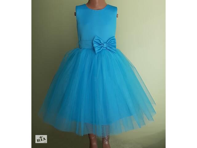 бу Праздничная детская платье голубого цвета, модель № 108 в Хмельницком