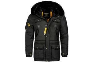 Теплая Мужская Зимняя Куртка Geographic Norway FVSB Parka Outdoor
