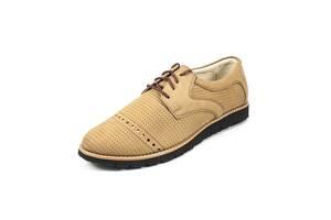 Туфли мужские MIDA 13337-10 бежевые (43)