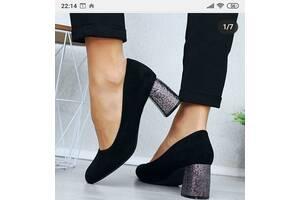 Туфли с красивым каблуком