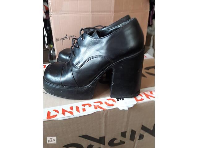 продам Туфлі жіночі шкіряні бу в Коростені