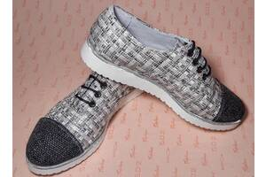 Туфли женские ткань ОПТ и розница