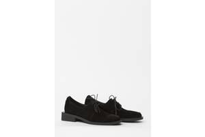 Туфли женские замшевые Wright 2041Tufl 40 черные