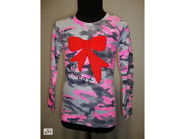 продам туника бант для девочки розовая бу в Львове