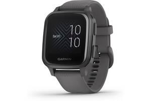 Умные часы Garmin Venu Sq Slate Aluminum Bezel with Shadow Gray Case (010-02427-10)