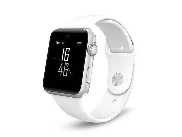 купить бу Умные часы оригинал Lemfo LF07 smart DM09 со слотом под SIM карту , копия Apple watch iWatch в Ровно