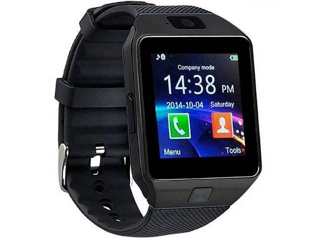 бу Умные часы Smart Watch DZ09 с шагомером Black (sw002-hbr) в Киеве