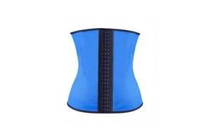 Утягивающий корректирующий корсет Sculpting Clothes Ny-04 для похудения S M Синий (bks_02521)