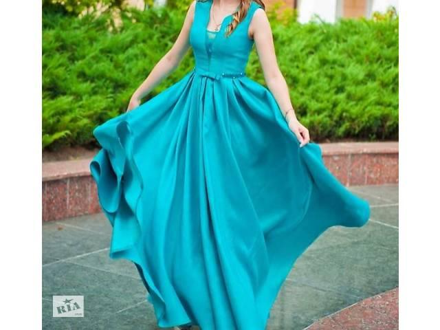 Вечернее платье изумрудного цвета- объявление о продаже  в Виннице