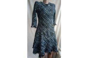 Вечернее твидовое платье в стиле шанель, Gucci