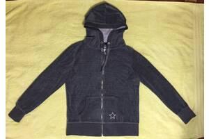 Велюрова куртка толстовка з капюшоном бренд TCM(Німеччина) розмір 48.