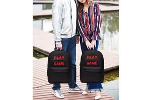 Вместительный тканевый рюкзак Play Game