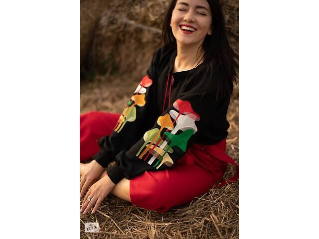 продам Вышитая женская блузка M U S H R O O M S бу в Чернигове