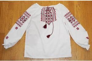Вышиванка-рубашка детская на 9-10 лет,134 см