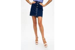 Юбка джинсовая 129R0590-1 цвет Синий