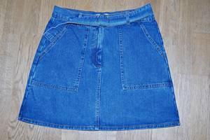 Юбка джинсовая -Terranova- мини размер M, джинс