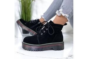 ТОЛЬКО 39р.Замшевые демисезонные ботинки Мартинсы dr. Martens 39р-24.5 см