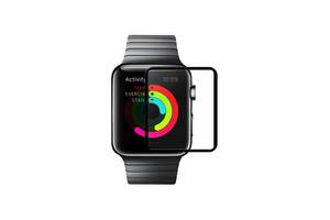 Защитное стекло Hoco Full Rim для Apple Watch 38 мм Black