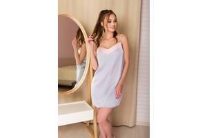 Жіноча нічна сорочка ARIZZO AZ-349 (сірий) XL (900000002198)
