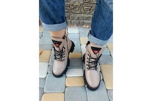 Женские кожаные ботинки 00626