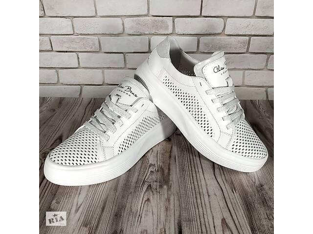 Женские кожаные кроссовки 00640- объявление о продаже  в Мелитополе