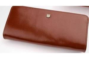 Женский бумажник из кожи Stefania, коричневый