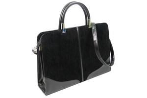 Женский деловой портфель из эко кожи Arwena Td005f36 черный