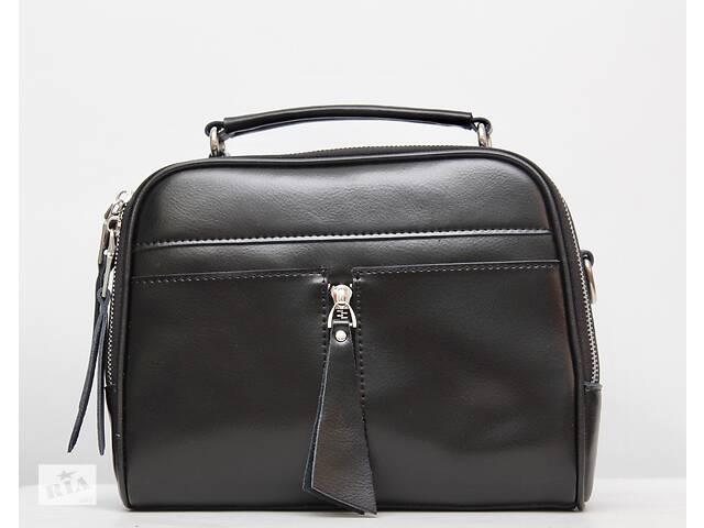 продам Жіноча сумка з натуральної шкіри / Стильная женская кожаная (кожа натуральная) сумка бу в Киеве
