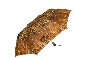 Зонт повний автомат AIRTON 3935 коричневий бежевий