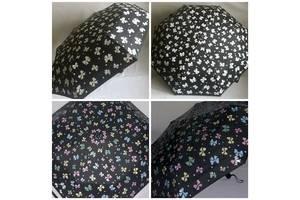 Зонт полный автомат с проявляющимся рисунком женский Magic Rain