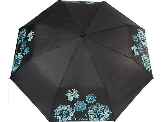 Зонт женский полуавтомат H Due O черный- объявление о продаже  в Киеве