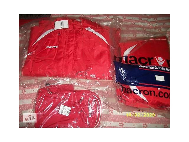 Зимова спортивна куртка MACRON 52 розмір- объявление о продаже  в Ужгороді