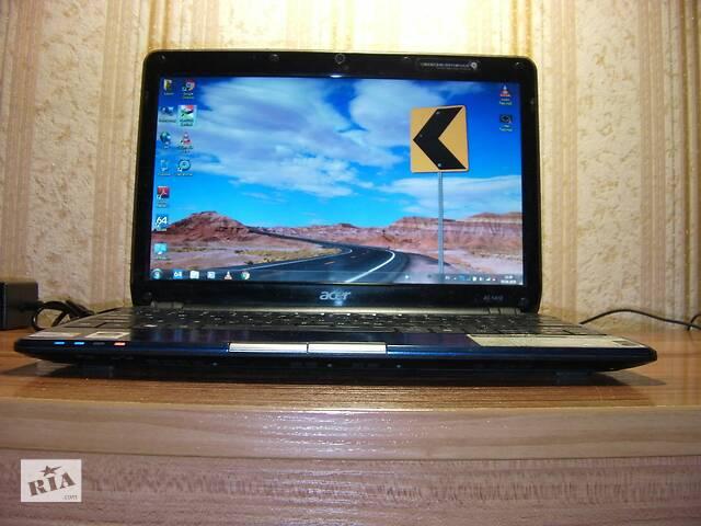 купить бу Acer Aspire 1410 11.6 Дюйма 3ГБ/160ГБ Intel SU3500 1.40ГГц-1.60ГГц Веб-Камера HDMI Новое З/У Рабочая Батарея из США #1 в Тернополе