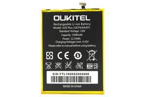 Аккумулятор к телефону Oukitel U20 Plus 3300mAh