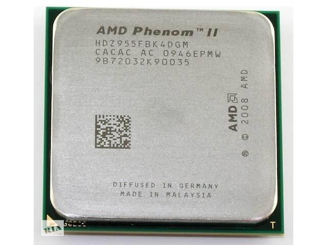 продам AMD Phenom II X4 955 3.2 GHz Black Edition (HDZ955FBK4DGM) Б/У бу в Запоріжжі